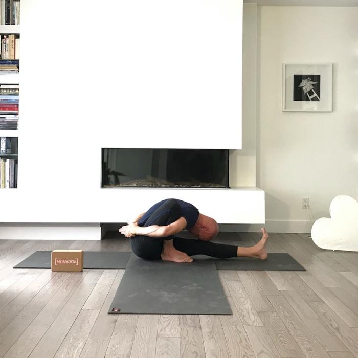 Cycle de 10 cours de Yin Yoga avec Christophe en Live