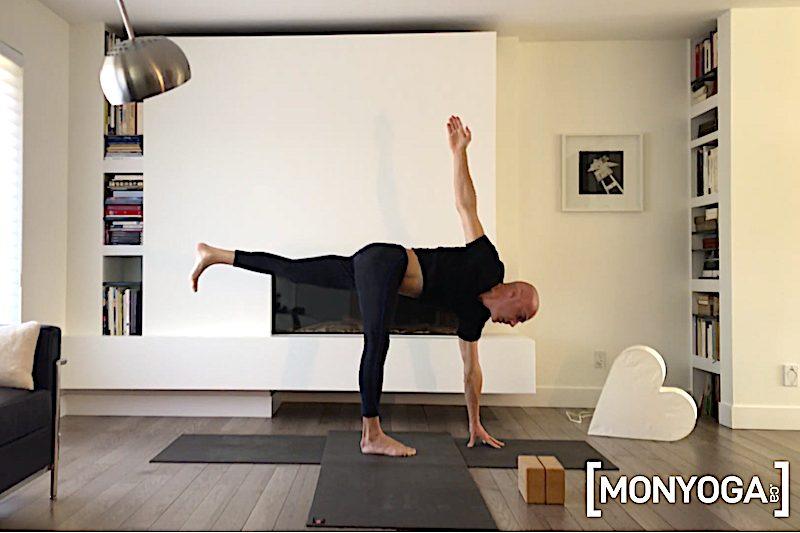 Vidéo en ligne de Power Yoga Force et Stabilité
