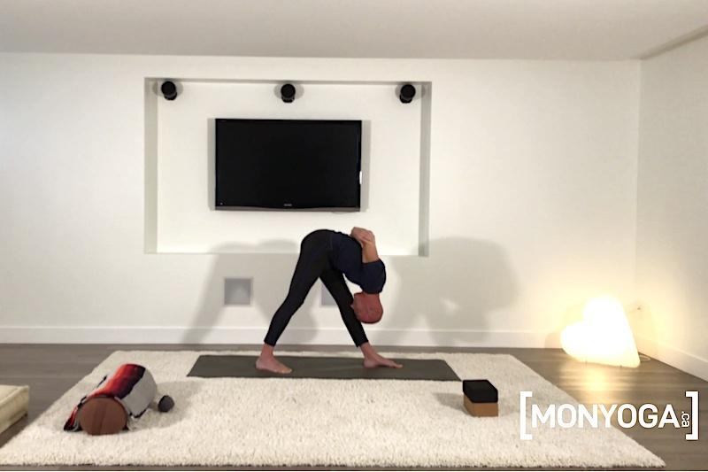 Cours de Yin Yang Yoga pour des étirements profonds des membres inférieurs