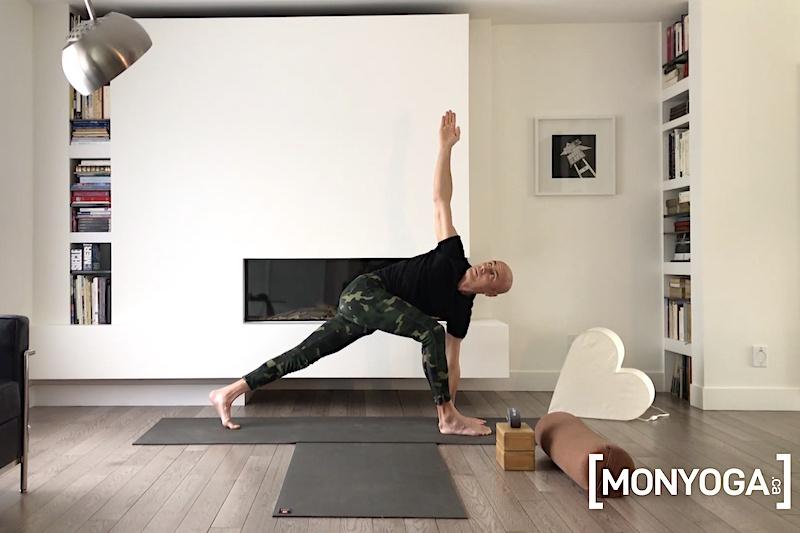 Séance de Yin Yang Yoga en ligne Fondation et élévation