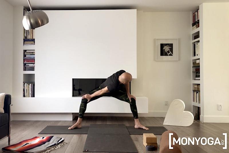 Séance de Yin Yang Yoga ouverture des hanches et équilibre émotionnel