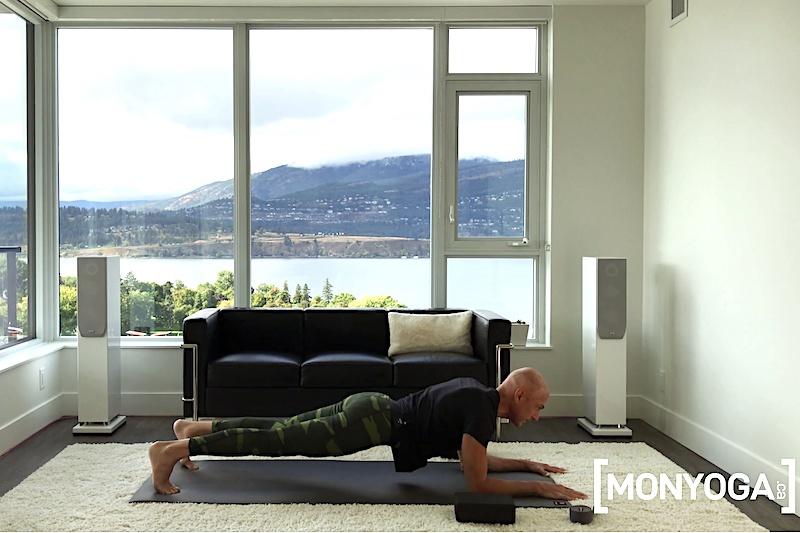 Cours de Yoga en ligne pour des Abdos fessiers fermes et toniques