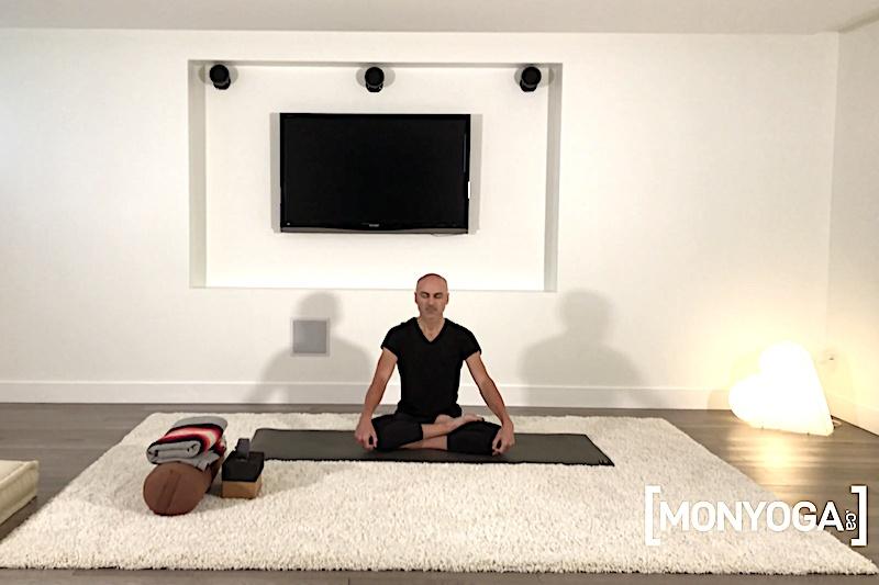 Vidéo en ligne de Yin Yoga pour ouvrir son corps pour s'ouvrir à la Vie