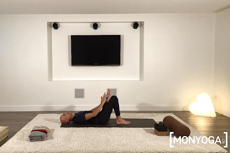 Pratique de Yoga en ligne pour accueillir son souffle et détendre son corps en douceur