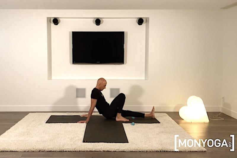 Pratique de Yoga Acupression pour masser rapidement ses muscles postérieurs
