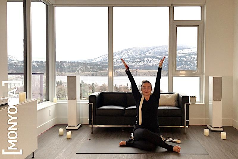 Cours de yoga en ligne pour équilibrer son système nerveux et délier nos articulations