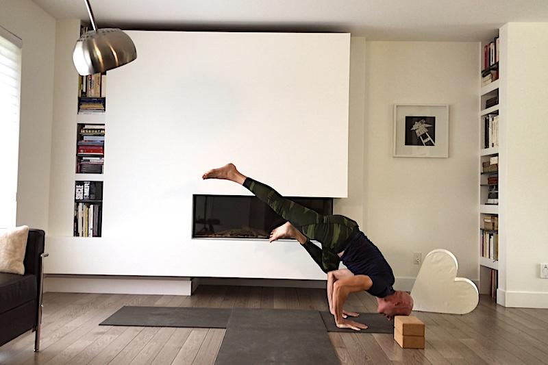 Séance de Power Yoga Vers l'infini et plus loin encore