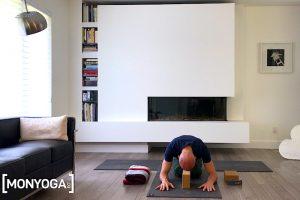 Cours de Yin yoga pour bien se relaxer et mieux respirer.